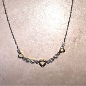 10k gold necklace (hearts&infinity) Kay Jewelers